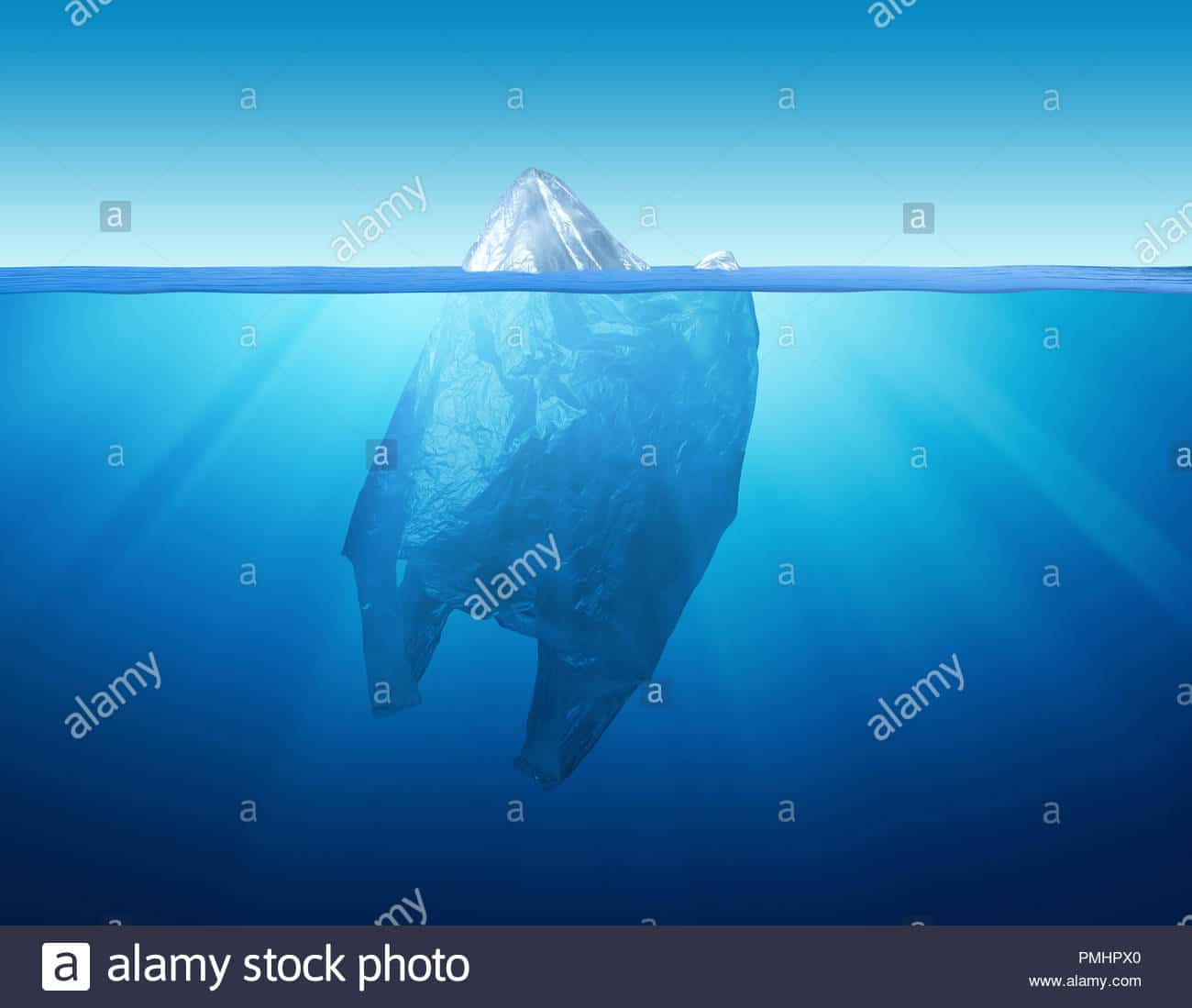plastic-bag-environment-pollution-with-iceberg-PMHPX0